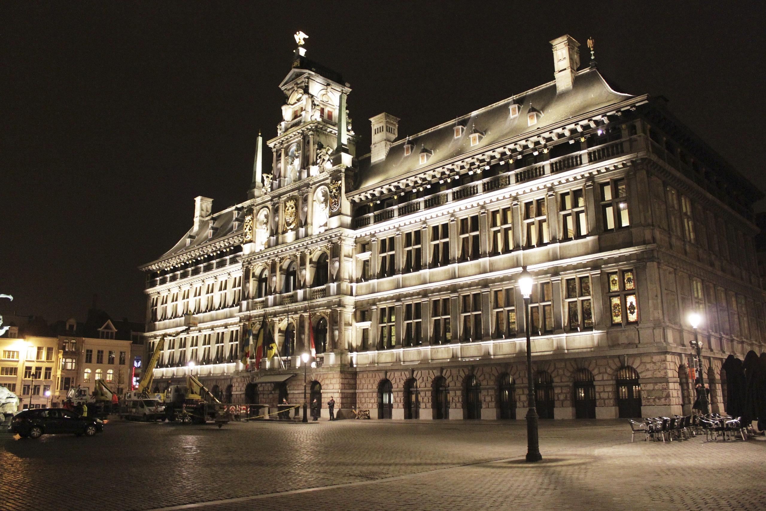 Stadhuis Antwerpen - Bron: Fluvius